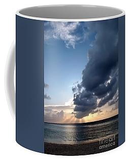 Caribbean Sunset Coffee Mug by Peggy Hughes