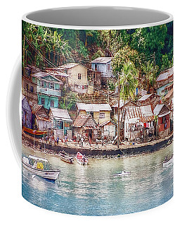 Coffee Mug featuring the photograph Caribbean Village by Hanny Heim