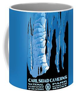 Carlsbad Caverns National Park Vintage Poster Coffee Mug