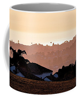 Coffee Mug featuring the digital art Carlsbad Sunset by Kirt Tisdale
