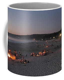 Carmel Beach Bonfires Coffee Mug