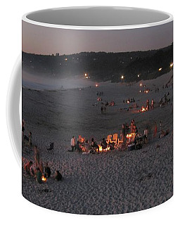 Carmel Beach Bonfires Coffee Mug