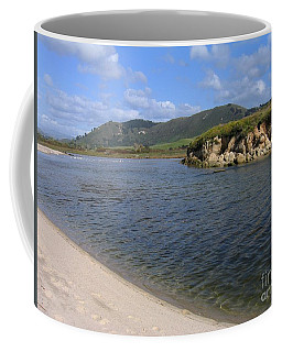 Carmel River Lagoon Coffee Mug