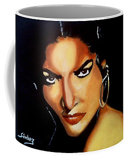 Carmen - Original Painting  Coffee Mug by Manuel Sanchez