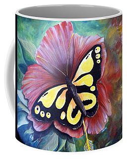 Carnival Butterfly Coffee Mug