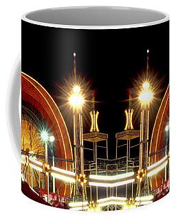 Carnival Light Patterns At Night Coffee Mug