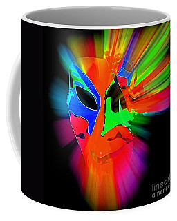 Carnival Mask In Abstract Coffee Mug