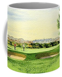Carnoustie Golf Course 13th Green Coffee Mug
