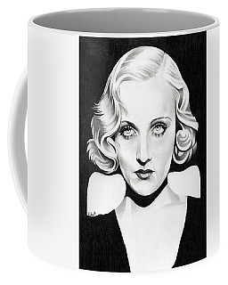 Carole Lombard Coffee Mug by Fred Larucci