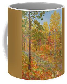 Carolina Autumn Gold Coffee Mug by Gail Kent
