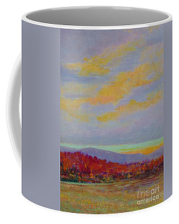 Carolina Autumn Sunset Coffee Mug by Gail Kent