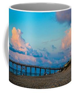 Carolina Blue Over Kure Beach Coffee Mug