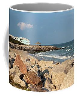 Coffee Mug featuring the photograph Carolina Coast by Cynthia Guinn