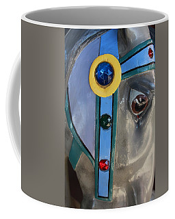 Coffee Mug featuring the photograph Carousel Horse by Diane Alexander