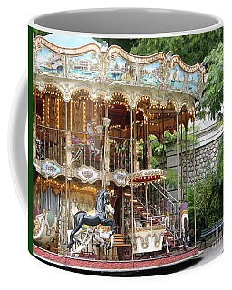 Carousel In Paris Coffee Mug