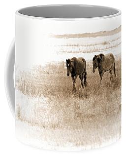 Carrot Island Ponies Coffee Mug