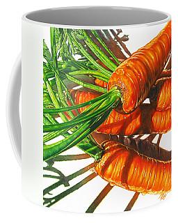 Carrot Top Shadows Coffee Mug by Tracy Male
