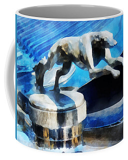 Cars - Lincoln Greyhound Hood Ornament Coffee Mug