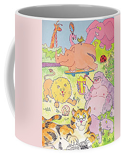Cartoon Animals Coffee Mug
