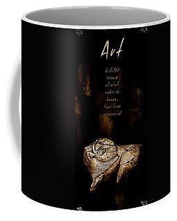 Carved Bison Coffee Mug