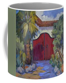 Casa Tecate Gate 2 Coffee Mug by Diane McClary