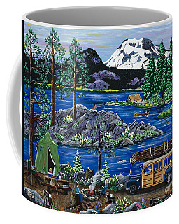 Cascade Lake Sparks Coffee Mug
