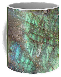Cascade Of Green Coffee Mug
