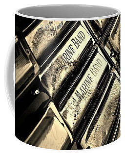 Case Of Harmonicas  Coffee Mug