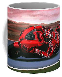 Casey Stoner On Ducati Coffee Mug