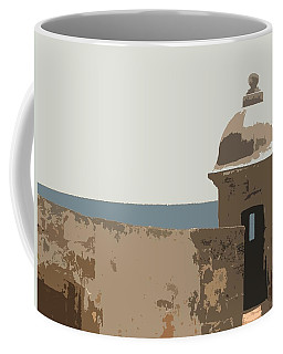 Casita Coffee Mug by Julio Lopez