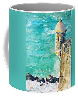 Castillo De San Cristobal Ocean Sentry  Coffee Mug