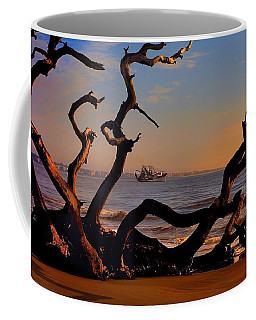 Casting Fate To The Water Coffee Mug