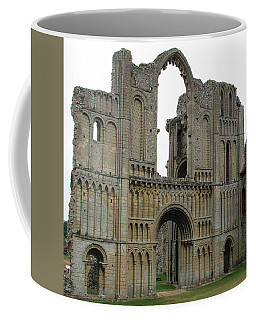 Coffee Mug featuring the photograph Castle Acre Abbey by Stephanie Grant