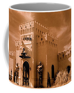 Coffee Mug featuring the photograph Castle By The Road by Rodney Lee Williams