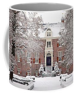 Castle In Winter Dress  Coffee Mug