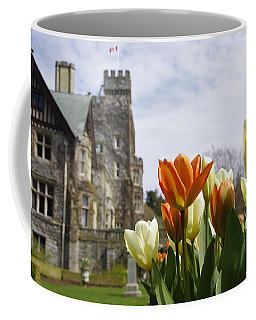 Castle Tulips Coffee Mug