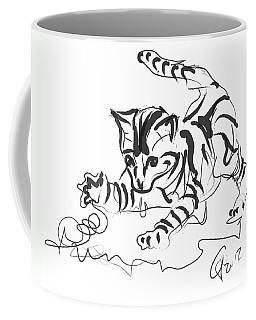 Cat- Cute Kitty  Coffee Mug by Go Van Kampen