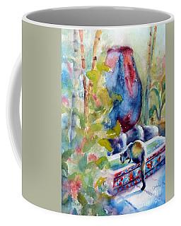 Cat Drinking Fountain Coffee Mug
