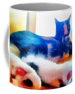 Cat Feet Coffee Mug