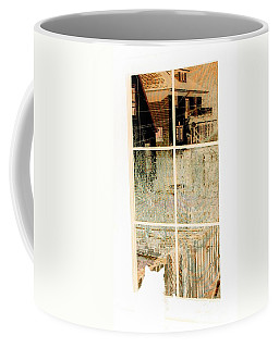 Coffee Mug featuring the photograph Cat Perspective by Jacqueline McReynolds