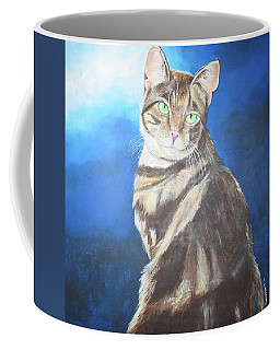 Cat Profile Coffee Mug