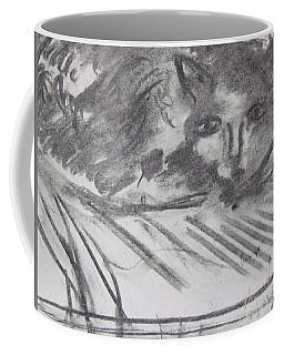 Cat Relaxing Coffee Mug