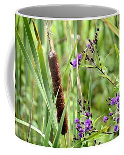 Cat Tail And Iron Weed Coffee Mug
