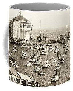 Catalina Island. Avalon Coffee Mug by Ben and Raisa Gertsberg