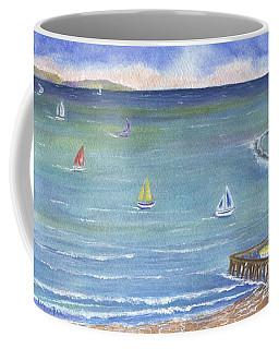 Catalina To Redondo Coffee Mug by Jamie Frier