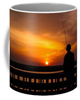 Catching The Sunset Coffee Mug