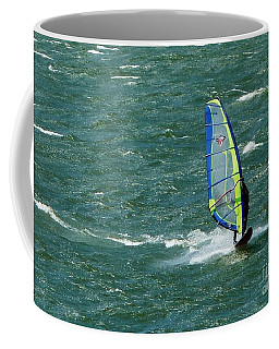 Catching Wind And Surf Coffee Mug