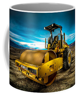 Caterpillar Cat Roller Cs563e Coffee Mug