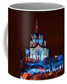 Cathedral Of St Paul All Dressed Up For Red Bull Crashed Ice Coffee Mug
