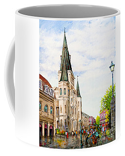 Cathedral Plaza - Jackson Square, French Quarter Coffee Mug